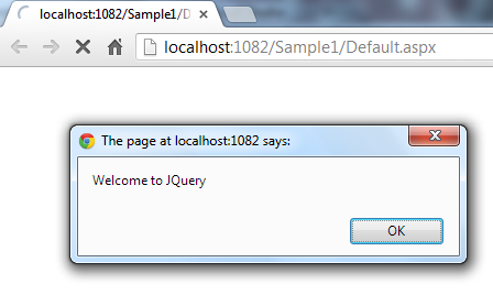 Welcome to Jquery